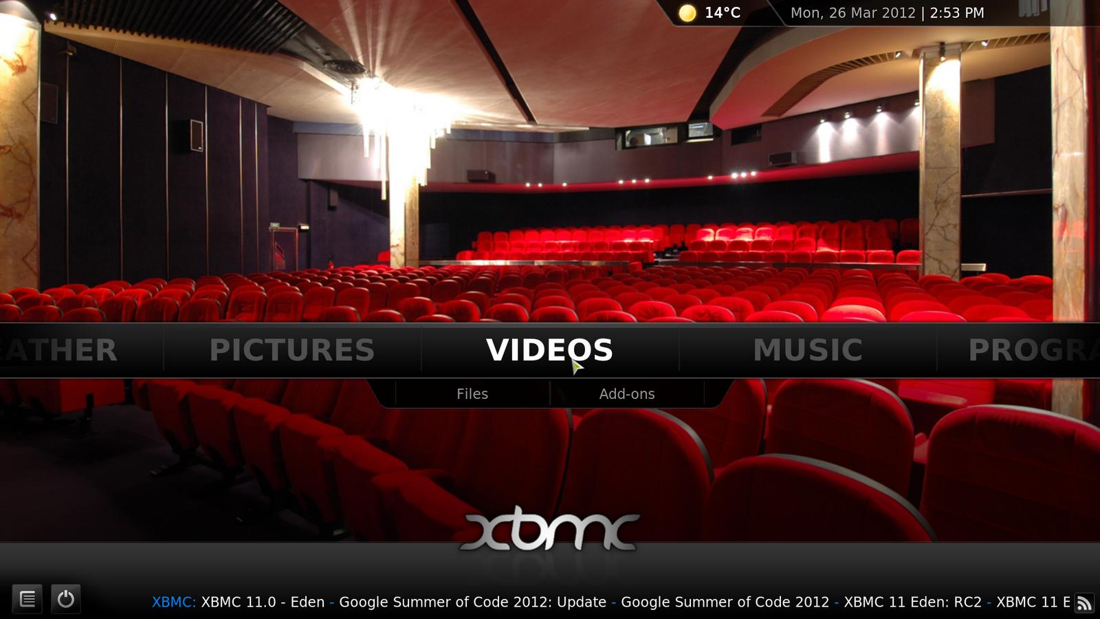 Xbmc media center 11 0 released install it in ubuntu for Wallpaper home center