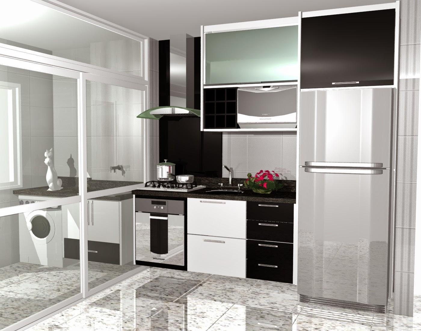 Cozinha Pequena De Apartamento Moderna Como Decorar Seu Apartamento