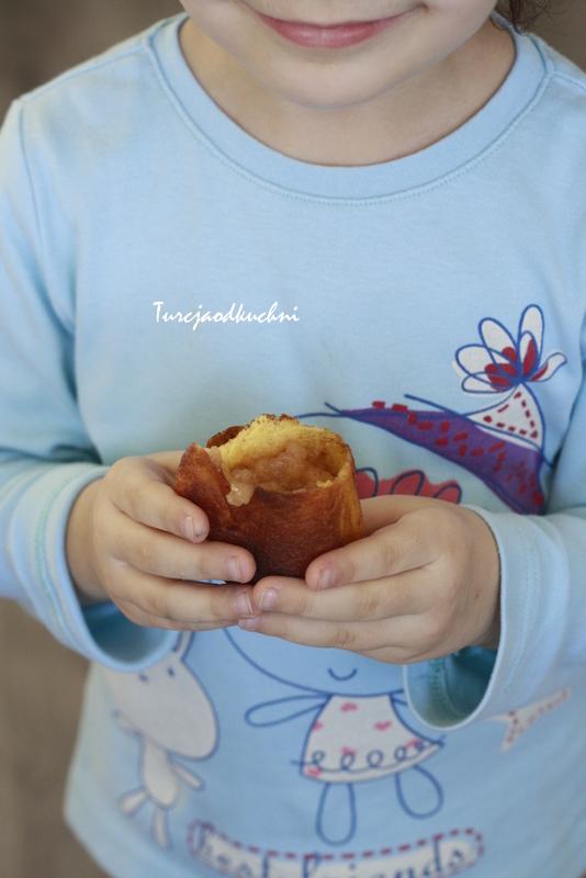 Racuchy z dynią i musem jabłkowym