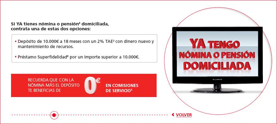 Creditos hipotecas regalo tv con banco santander for Oficina directa pastor