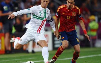 hasil portugal vs spanyol