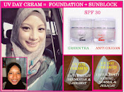 Testimoni Set Pencerahan + UV Day Cream