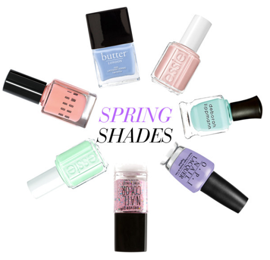 Stylish Nail Polish Shades for Spring