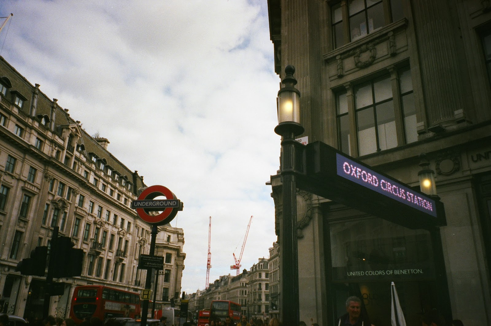 Oxford Circus Station London