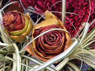 Herbstlaub Rosen