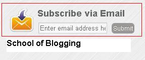 "Easy way to Add ""Email Subscription Form"" To Blogger"