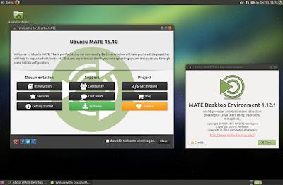 MATE 1.12.1 Ubuntu Wily