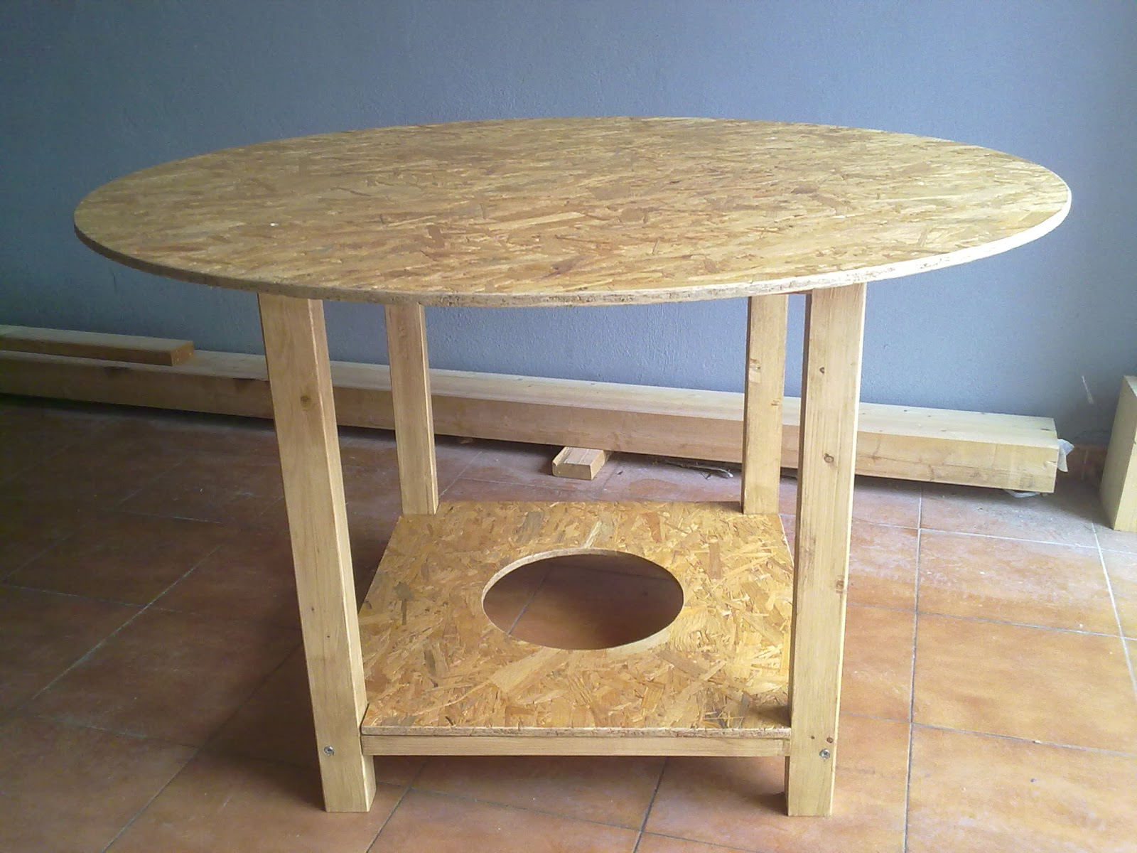 Miguel garcia carpintero mesa camilla para brasero - Mesa para brasero ...