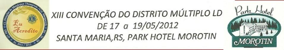 Convenção DMLD2012