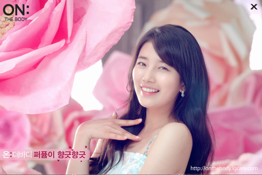 Bae Suzy Official Commercial Photos for The Body CF