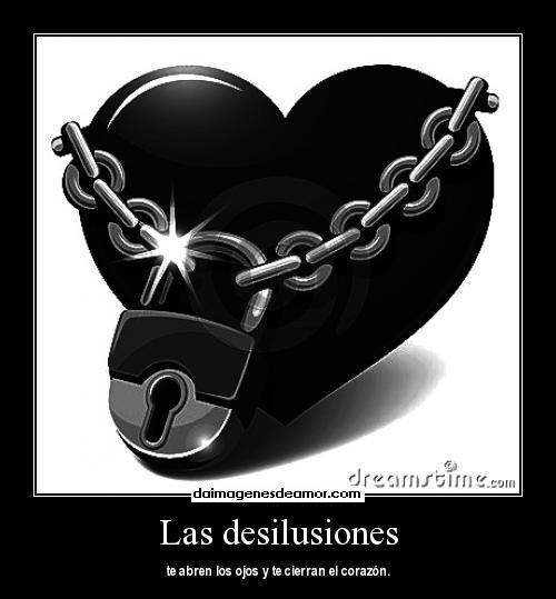 Desamor, desilusión, decepción de amor, mensajes tristes