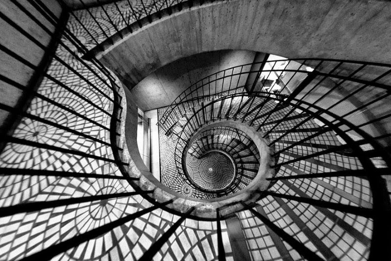 "13. ""Spinning Out of Control"" – Ryan C. Anderson - 15 Mesmerizing Examples of Spiral Staircase Photography"