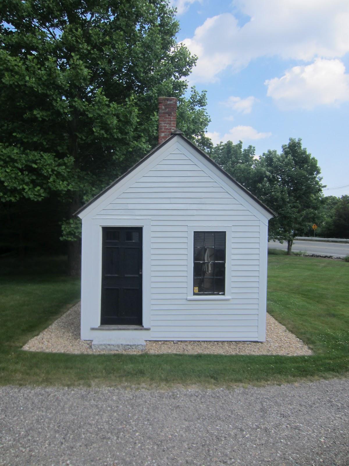Relaxshackscom A Tiny White Historical Cobbler House in