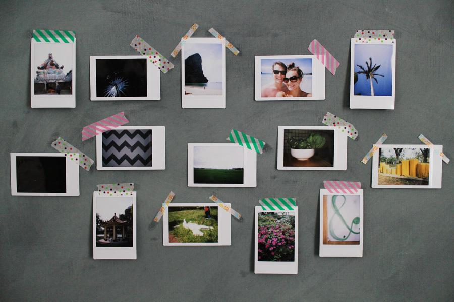 Ink Adventure Diy Photo Wall Display 52 Weeks Project