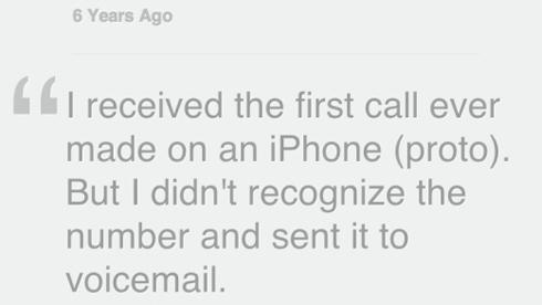 Grignon kể về cuộc gọi bất ngờ từ iPhone