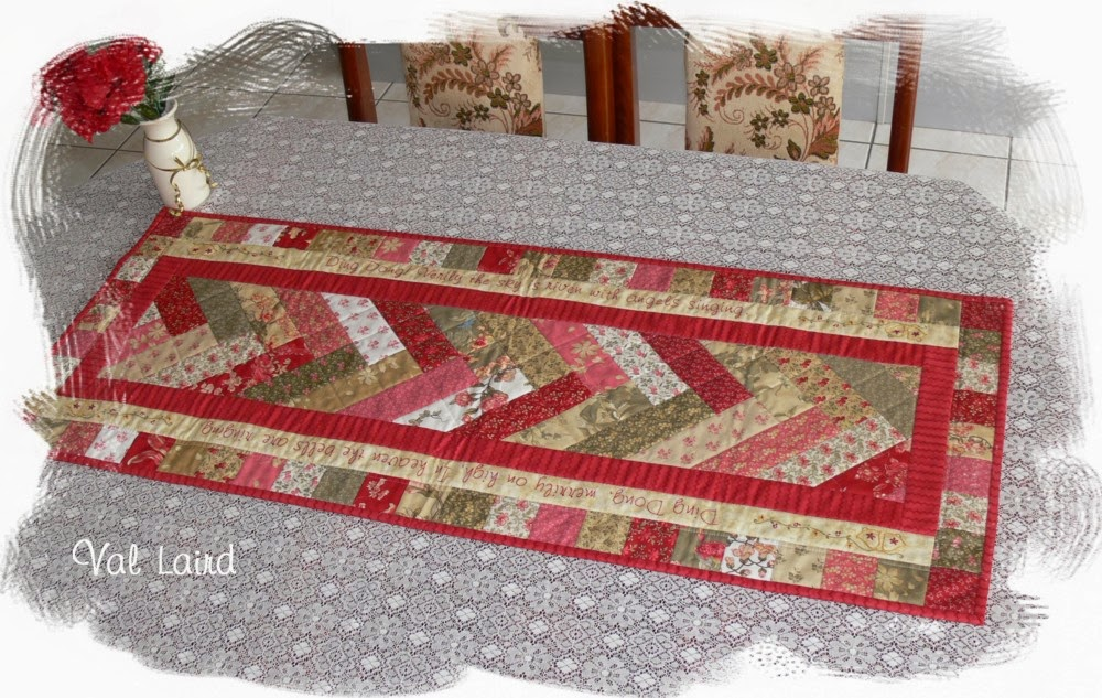 Pattern table Christmas  Free  Stitcher: for Journey runner Designs Laird christmas Val  of a  designs