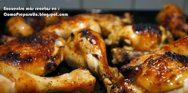 POLLO AL HORNO PERUANO - Recetas fáciles - Chicken
