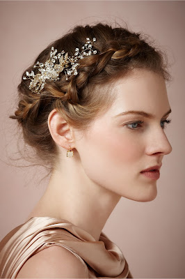 Top Braided Hairstyles Wedding Crown Hair Accessory