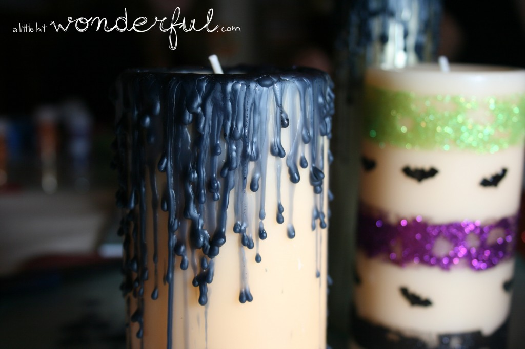 Spooktacular Candles by A Little Bit Wonderful