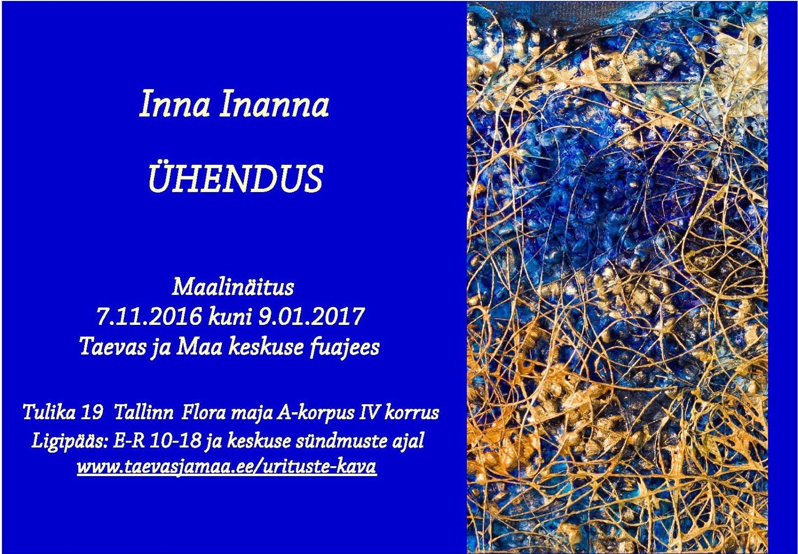 Maalinäitus Tallinnas. Pildid ka kaustas KUNST
