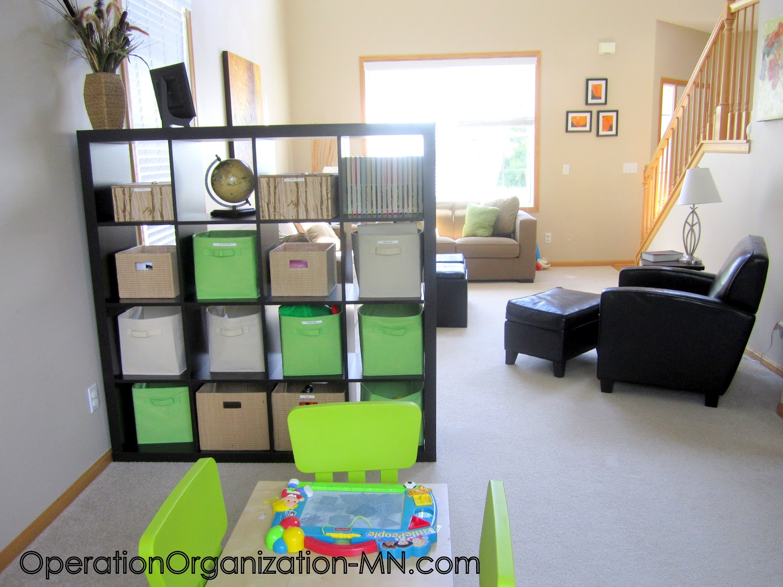 Operation organization professional organizer peachtree Small room organization