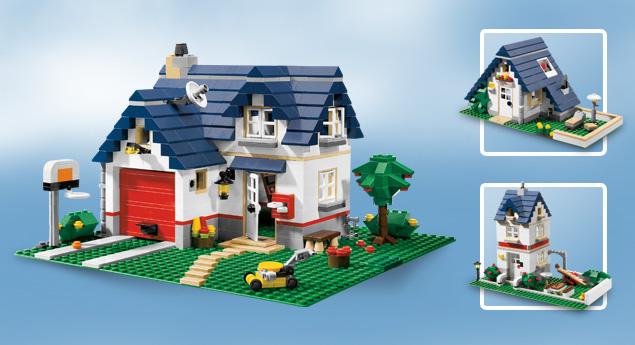 Lego World Delight Lego Creator 5891 Apple Tree House