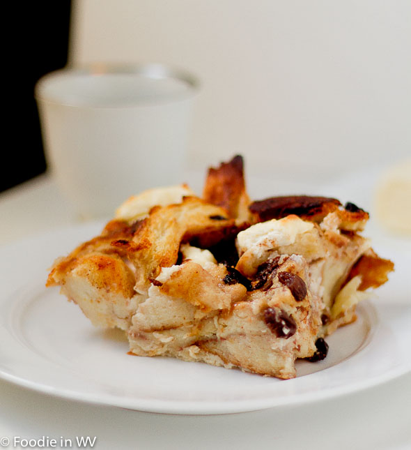 Cinnamon Raisin Strata