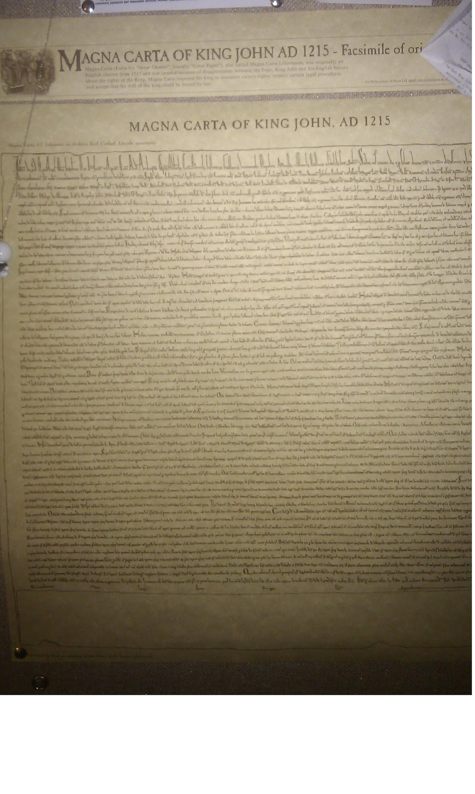 1215 magna carta book review On june 15, 1215, facing a rebellion of his barons, king john of england (yep, the villain of the robin hood movie, but that's a different subject) was forced to the conference table, and signed an historic charter - magna carta.