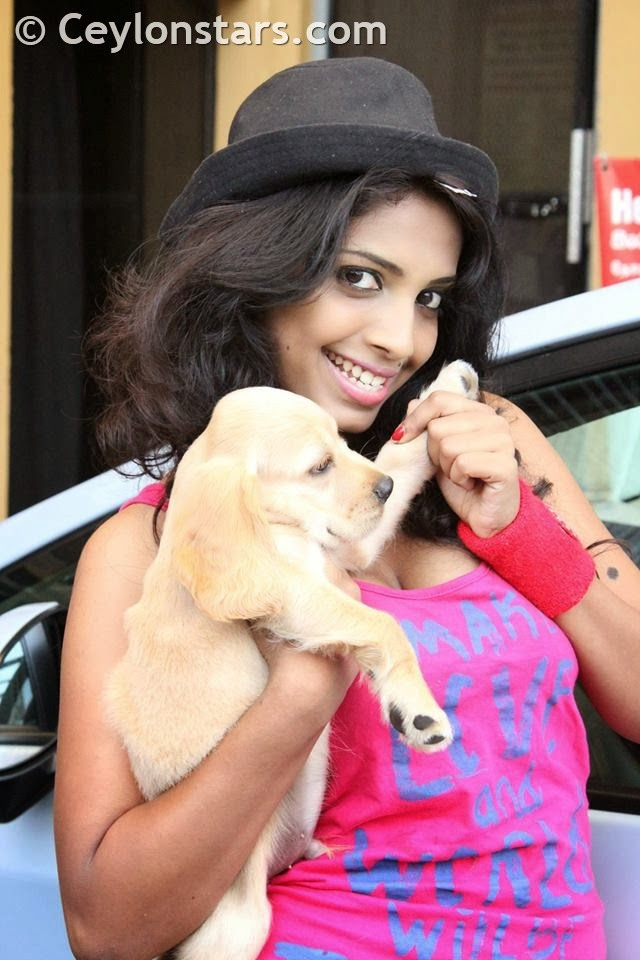 Lakshika Jayawardhana pink boobs