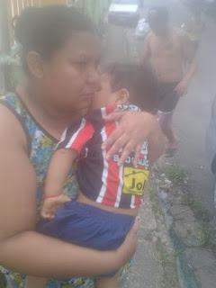 PM salva vida de criança no bairro Nova Esperança