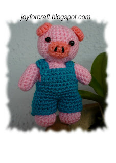 Amigurumi Crochet cute pigy pattern idea