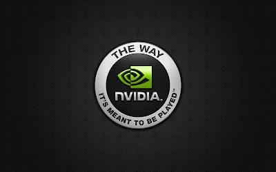 Green Widescreen Nvidia Logo Wallpaper