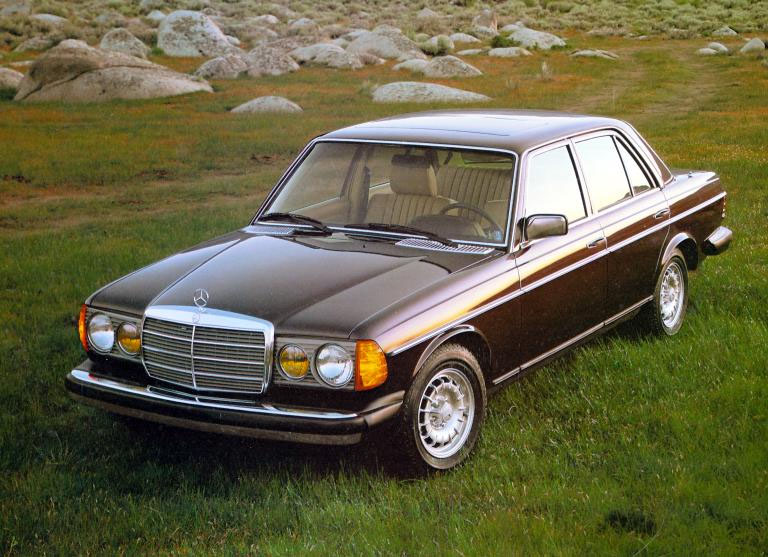 Classic mercedes benz details 240d 300d for Mercedes benz 240 d