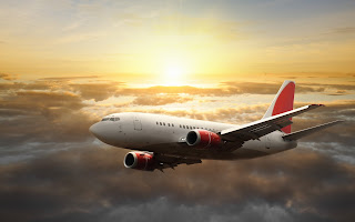 Sky Coulds Sun Aircraft Fly HD Wallpaper