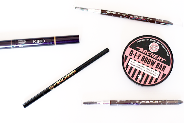 Budget/ High Street/ Drugstore Beauty Eyebrow Brow Pencils