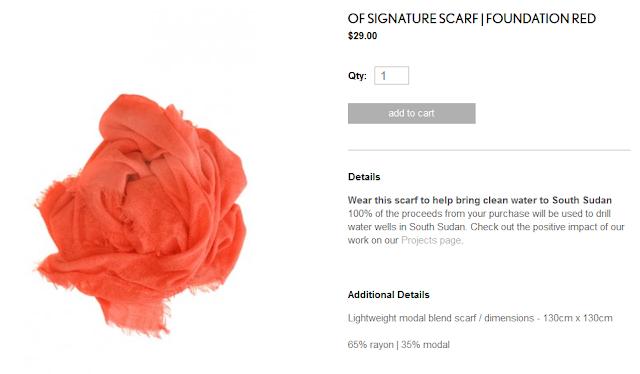 Obakki signature scarf