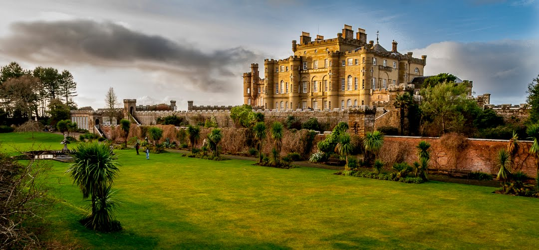 Castelli scozzesi tra brividi e favole castello di culzean for Disegni casa castello