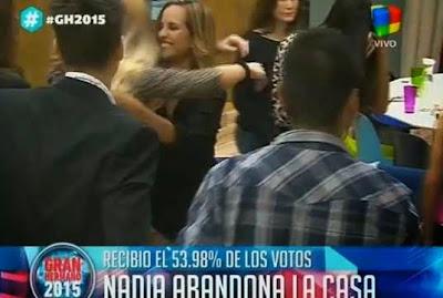 Nadia eliminada de Gran Hermano 2015