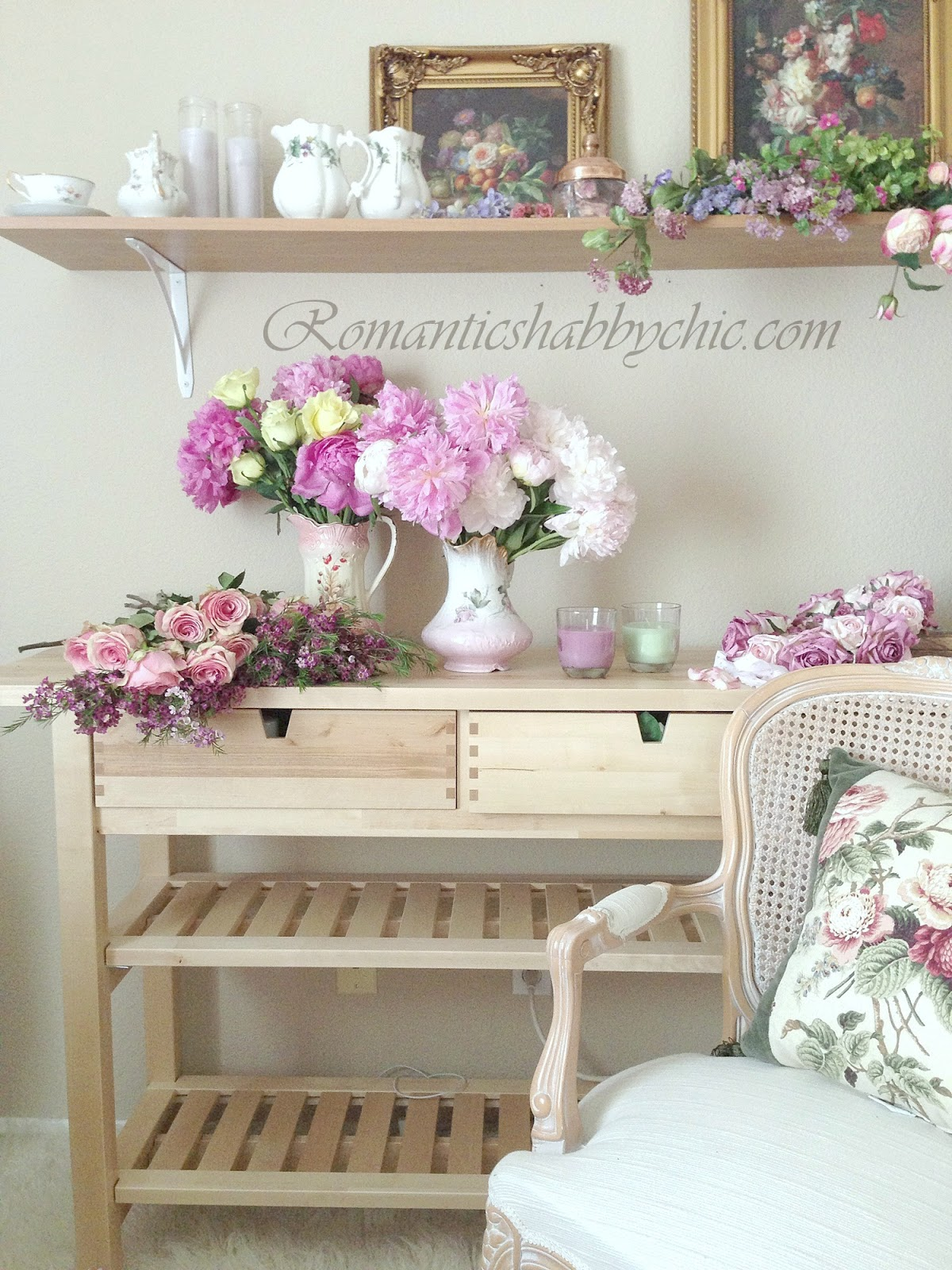 my shabby chic home romantik evim romantik ev. Black Bedroom Furniture Sets. Home Design Ideas