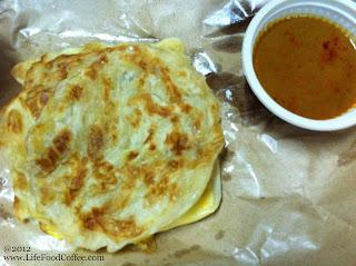 Plain Roti Canai and Roti Telor, Jalan Kayu Singapore, Food