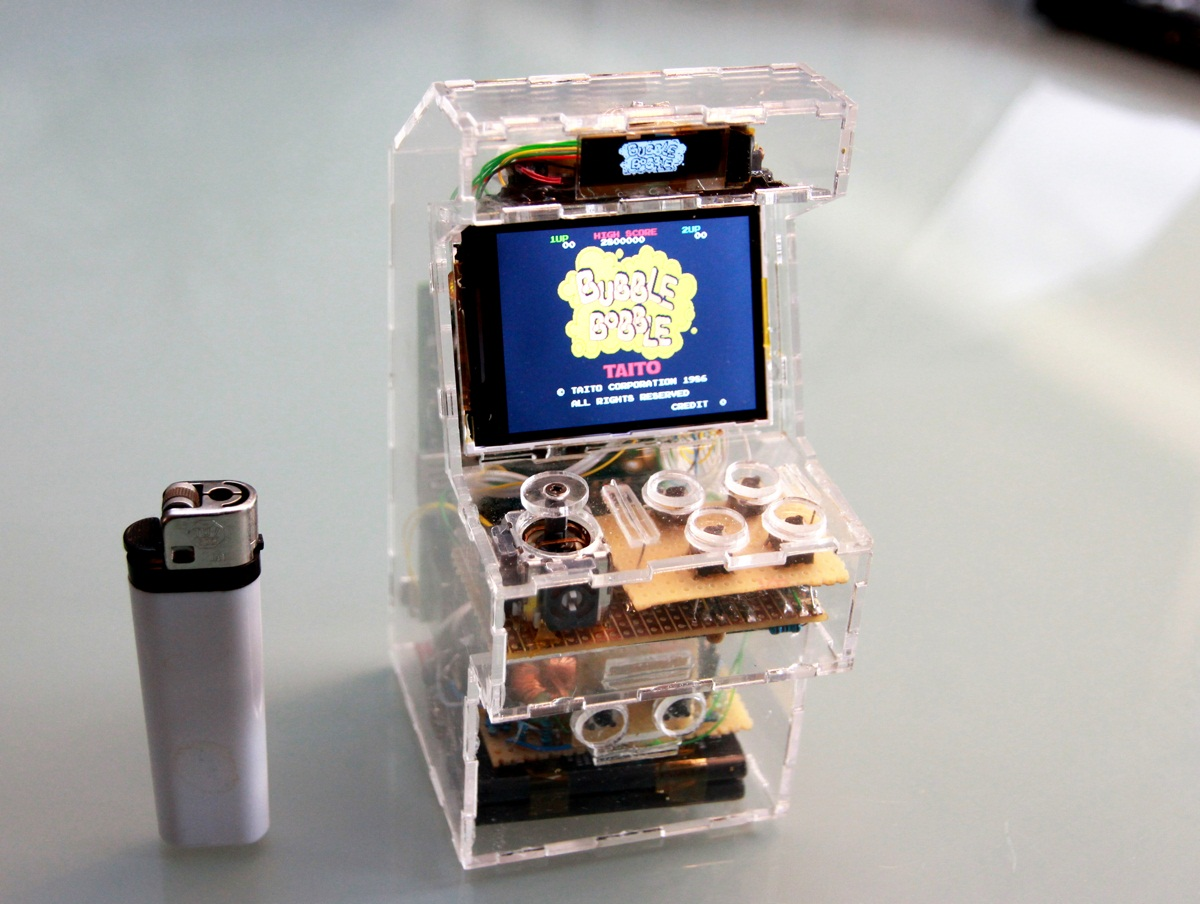Internet\'s Best Secrets: A Mini-Arcade powered by Raspberry Pi