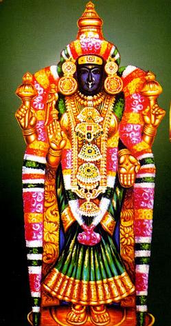 Akilandeswari amman, Thiruvanaikavil