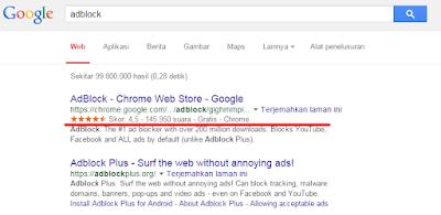 Cara Menghilangkan Iklan Pada Browser Dengan Adblock