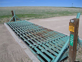 Cattle guards in Colorado