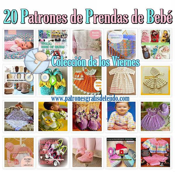 20 patrones ajuar bebe con paso a paso y tutoriales en videos patrones graticos