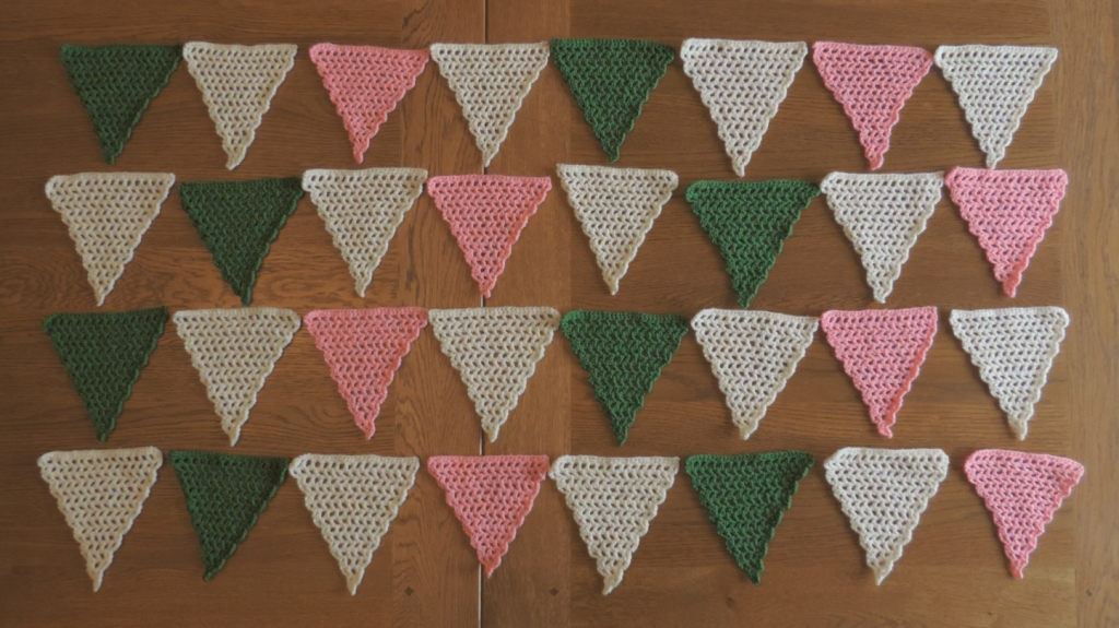 Knitting Now And Then Bunting