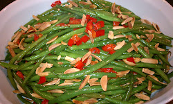 Christmas Green Bean Amandine