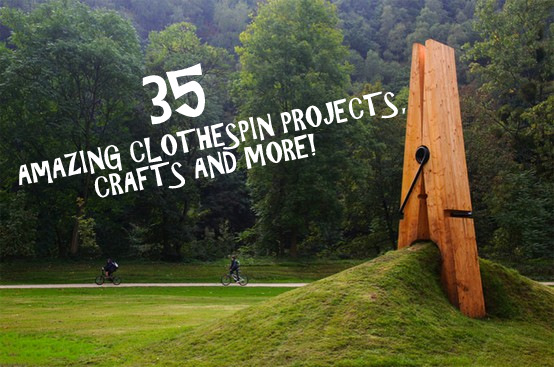 Greene acres hobby farm 35 diy clothespin projects ideas for Clothespin crafts for adults