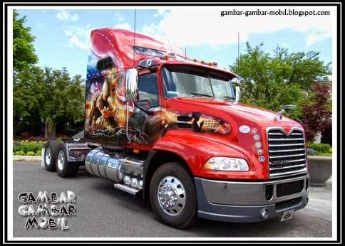 foto mobil truk terbesar