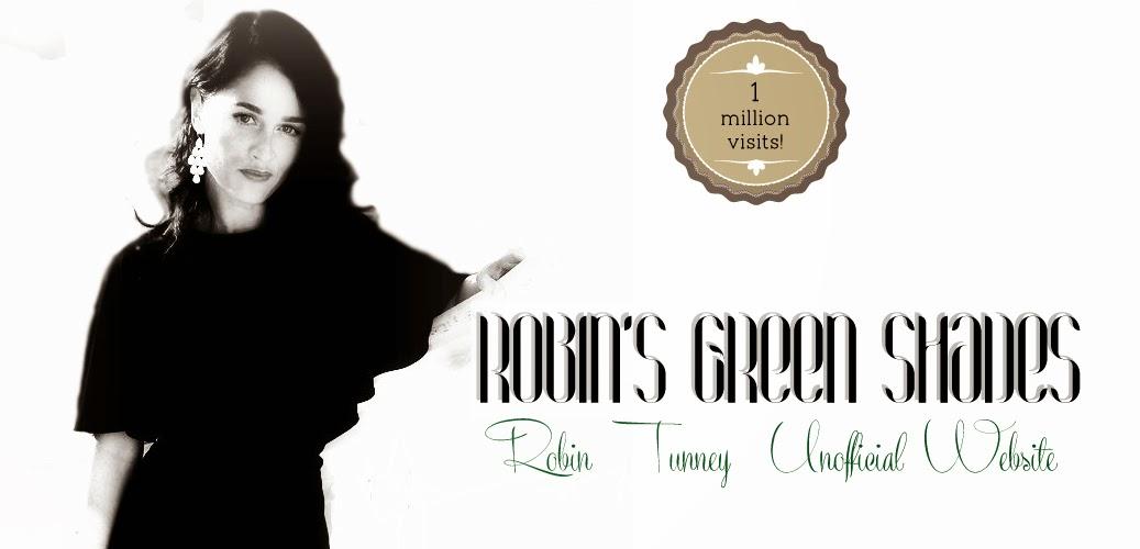Robin's Green Shades- Robin Tunney Unofficial website